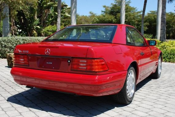 1997 mercedes benz sl320 revisit german cars for sale blog for Mercedes benz sl320 for sale