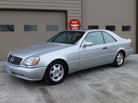 1997 mercedes benz cl600 german cars for sale blog for Mercedes benz cl600 price