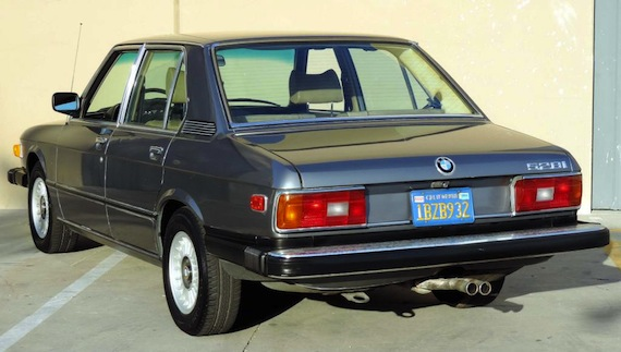 one owner 1981 bmw 528i german cars for sale blog. Black Bedroom Furniture Sets. Home Design Ideas