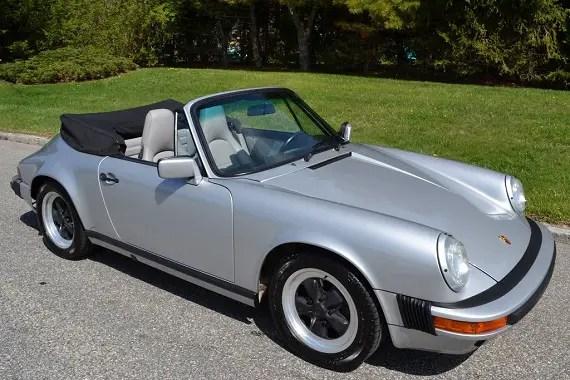 1988 porsche 911 carrera cabriolet german cars for sale blog. Black Bedroom Furniture Sets. Home Design Ideas
