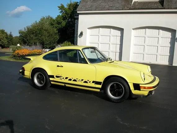 1975 porsche 911 carrera german cars for sale blog. Black Bedroom Furniture Sets. Home Design Ideas