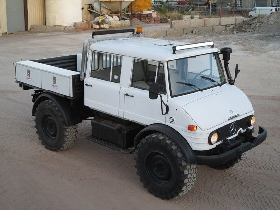 1982 mercedes benz unimog 416 doka german cars for sale blog. Black Bedroom Furniture Sets. Home Design Ideas