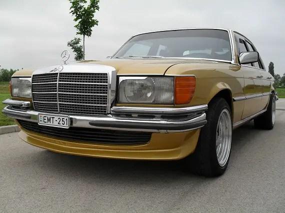 1977 mercedes benz 280se euro spec revisit german cars for Mercedes benz euro