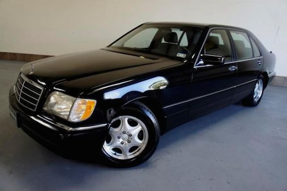 Ministerial transport 1997 mercedes benz s420 1995 for Mercedes benz s 420