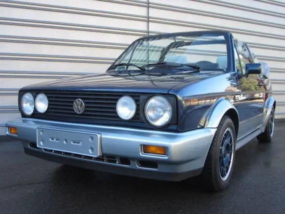 1990 volkswagen golf cabriolet bel air german cars for sale blog