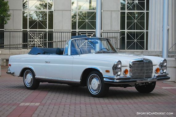 1971 mercedes benz 280se 3 5 cabriolet german cars for. Black Bedroom Furniture Sets. Home Design Ideas