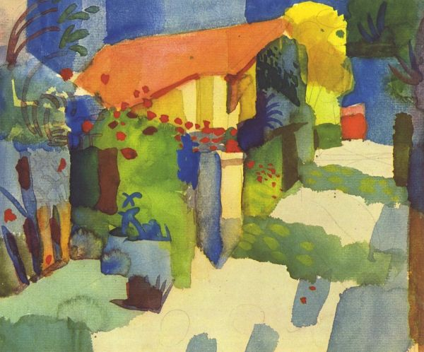 German Expressionism - August Macke Expressionist Painter