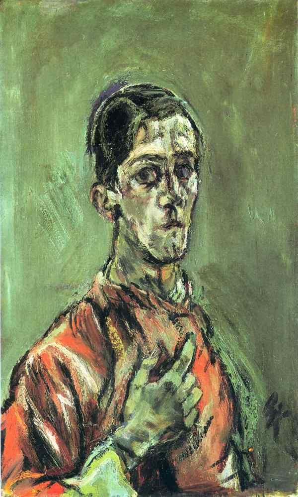 Oskar Kokoschka Self Portrait Expressionism