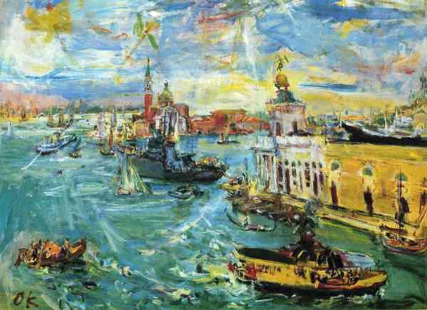 Oskar Kokoschka Famous Paintings