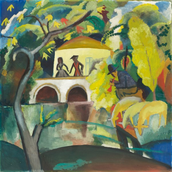 August Macke German Expressionist