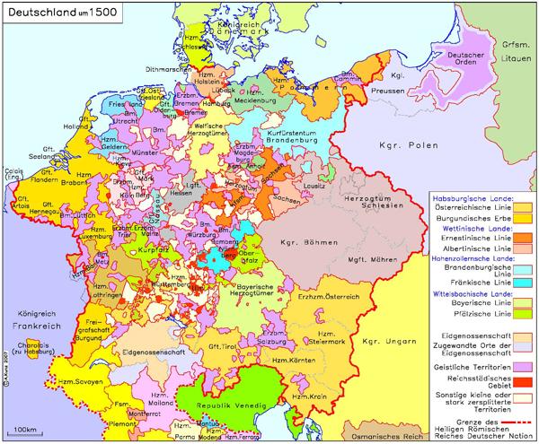 Deutschland (um 1500)