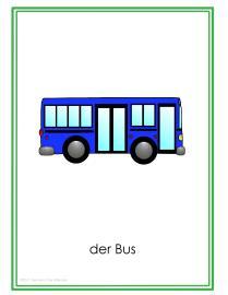 Fahrzeuge Posters GitA-Bus