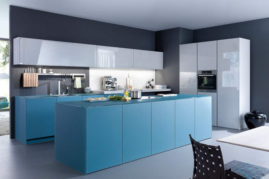 Glass Kitchen Cabinets In NYC