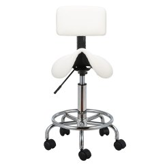 White Barber Chair Uk Staples Office Chairs Canada Salon Stool Massage Hairdressing Swivel Tattoo Spa