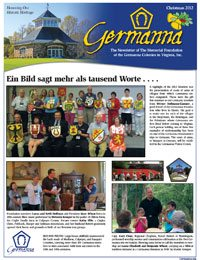 Germanna Foundation Newsletter, Fall 2012