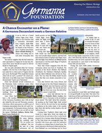 Summer 2015 Germanna Newsletter