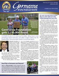 Summer 2016 Germanna Newsletter