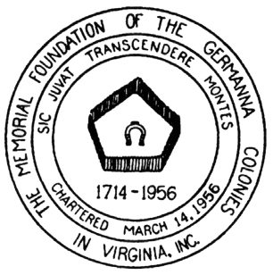 1956 Germanna Foundation Seal