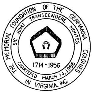 1956 Germanna Foundation Seal