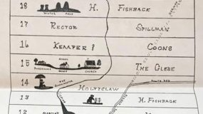 Germanna First Colony Land Patent Map