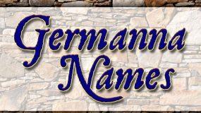 List of Germanna Names