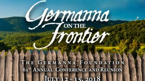 """""""Germanna on the Frontier"""" Reunion & Conference in July"""