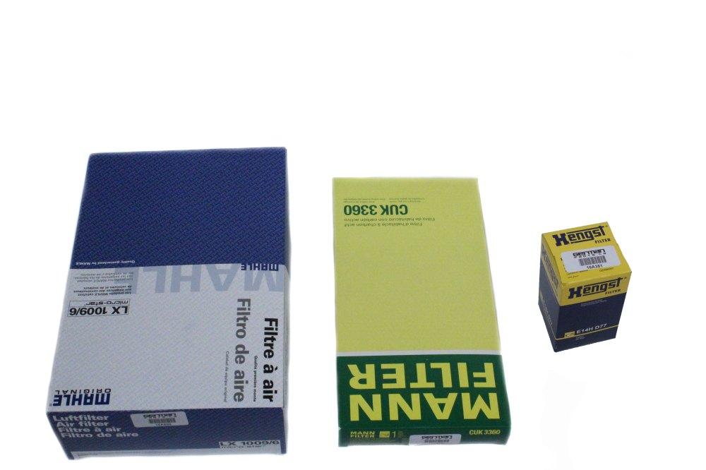 medium resolution of porsche boxster cayman filter set
