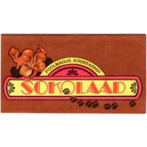 Estonian Vintage Chocolate Wrapper Kalev