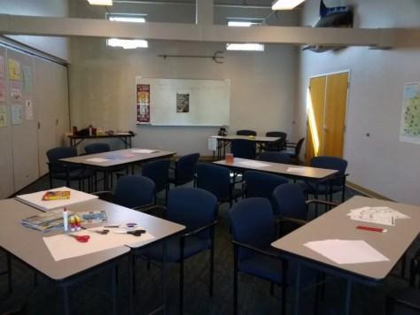 German School campus Classroom