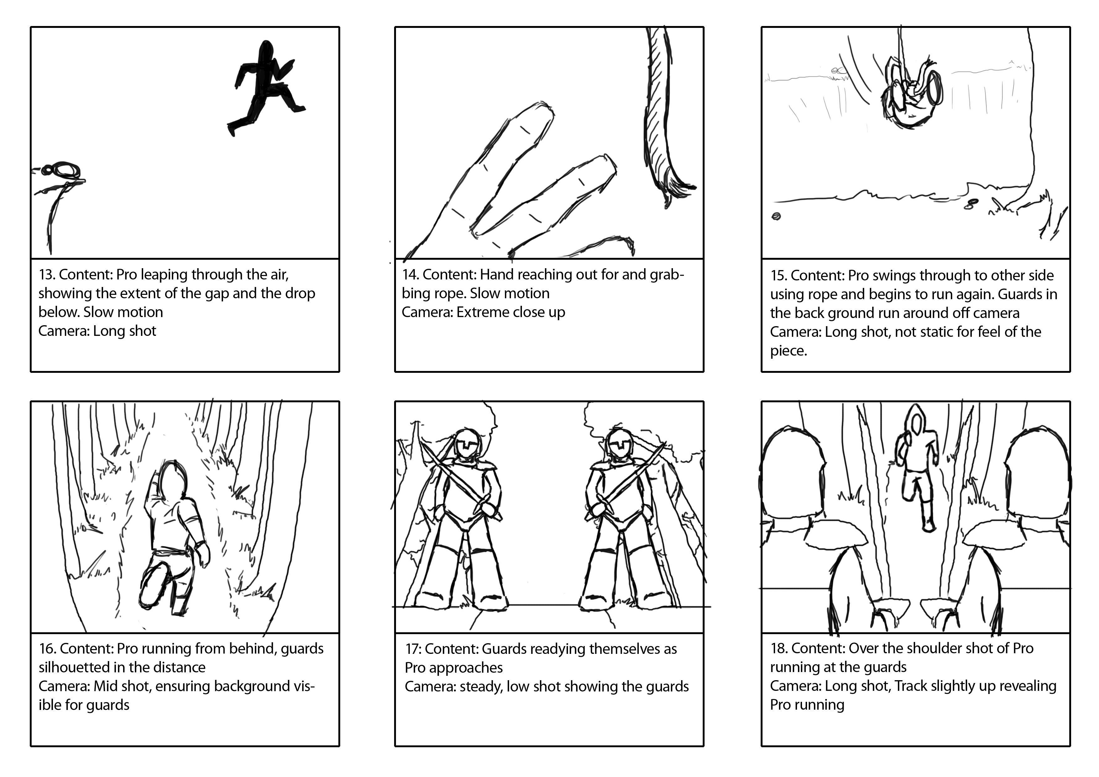 Storyboard Assignment And Examples