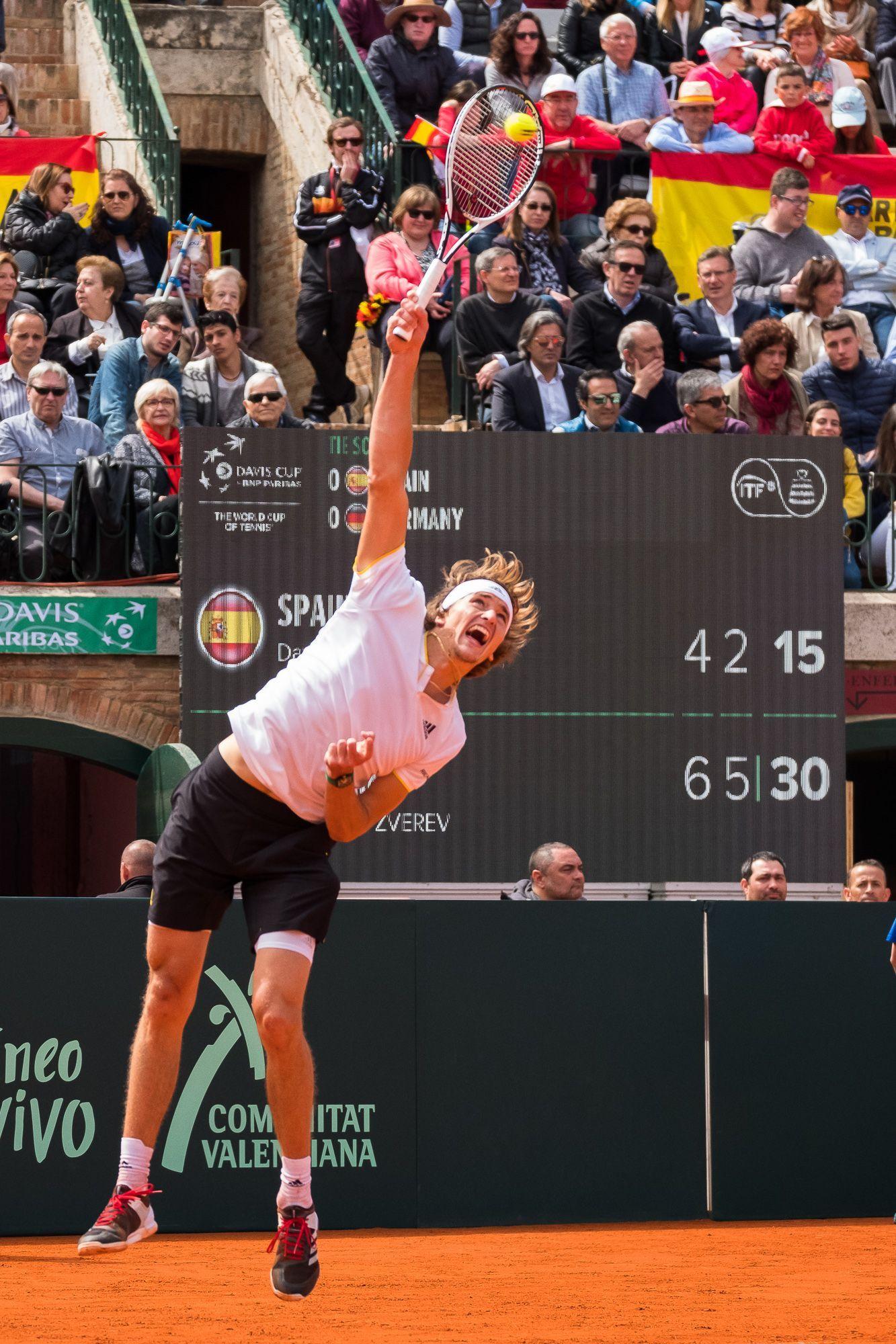 Copa Davis por BNP Paribas 2018, Alexander Zverev