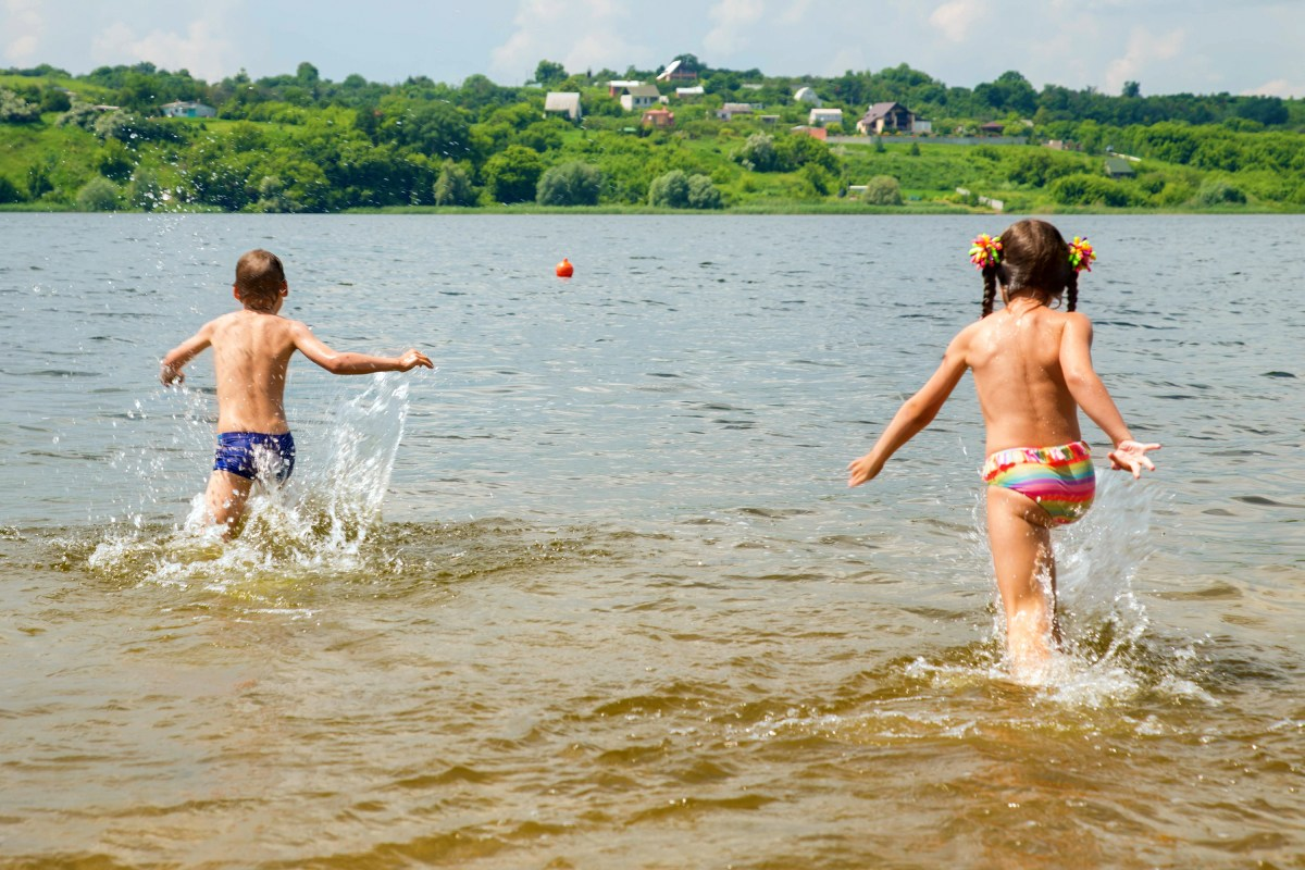 "In Germany, swimming in Flussschwimmbäder (""river swimming pools"") is part of the culture"