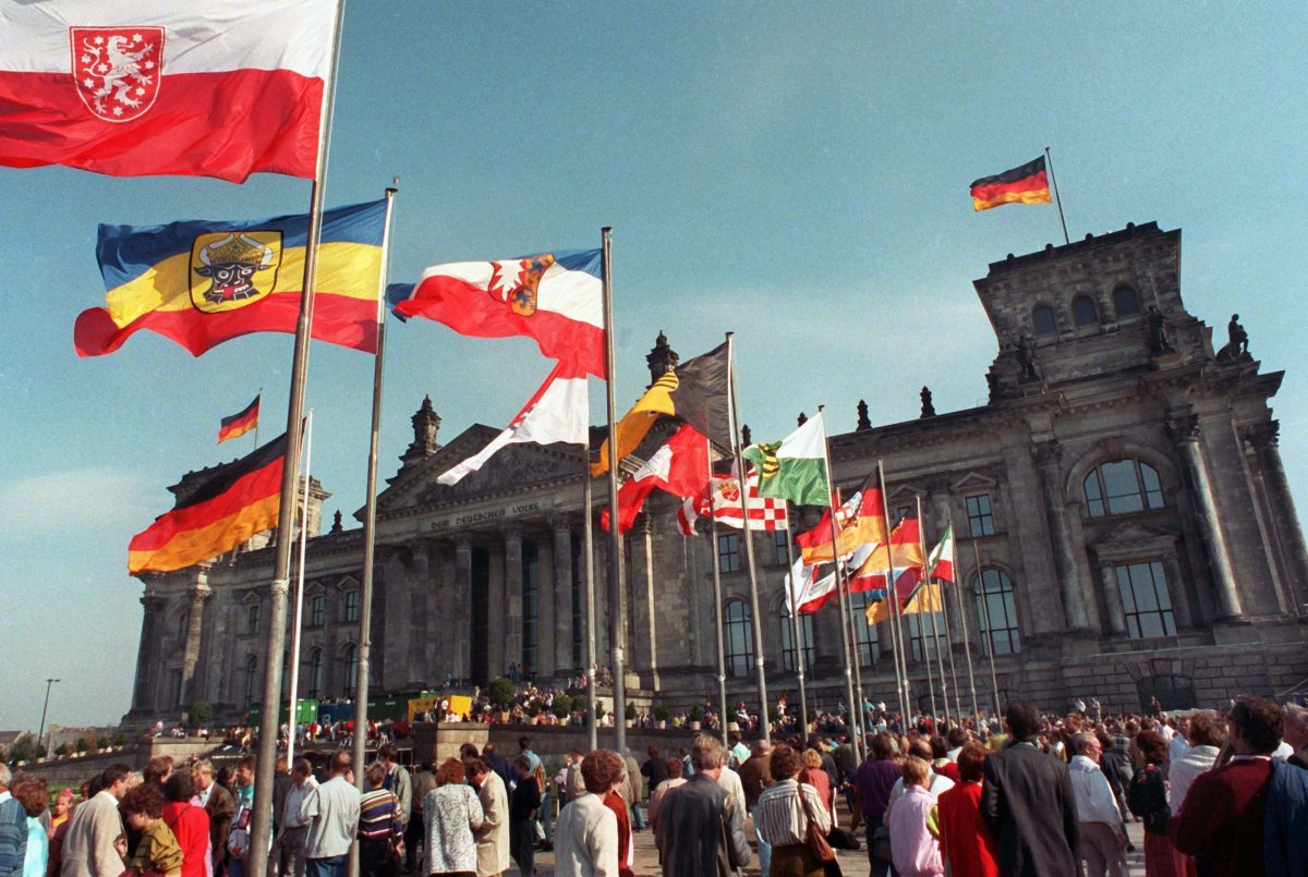 Leading up to German Unity Day