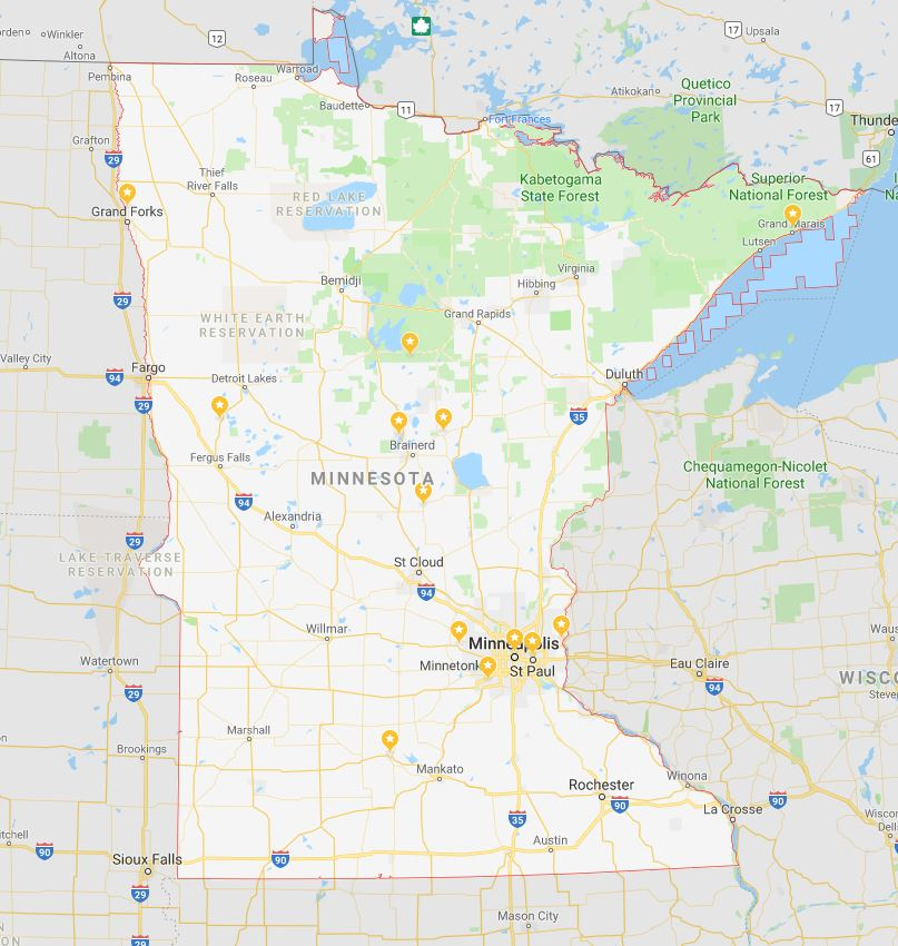 This map shows every single Oktoberfest in Minnesota… (we could find)
