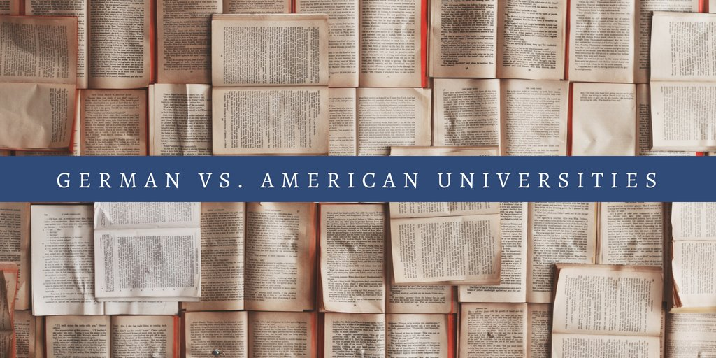 German vs. American Universities