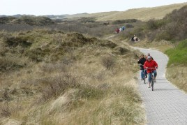 Cycling on langeoog