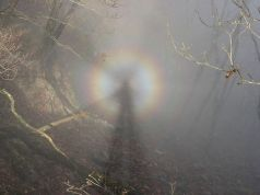 Brocken spectre, Harz Mountains pic Tanzawa Wikimedia