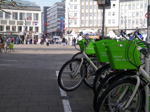 A new bike rental system is working well in the city