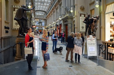 The Mädler Passage, one of several shopping arcades © LTM-Schmidt
