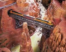 The Santa Fe railway in New Mexico