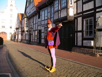 They went thataway: Hamelin's professional Pied Piper, Michael Boyer