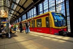 S-Bahn Berlin in Friedrichstrasse