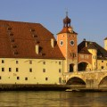Salzstadel Regensburg and the Steinerne Brucke