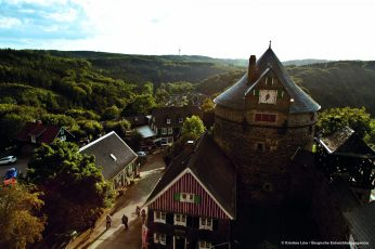 Solingen's castle is a modest affair in the hills. Pic © Kristine Löw, Berische Entwicklungsagentur