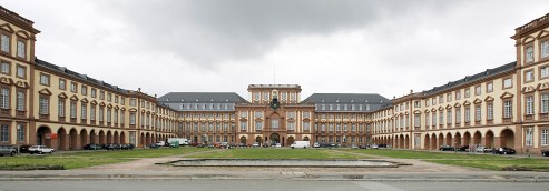 Mannheim's Baroque castle, housing one of Germany's best universities