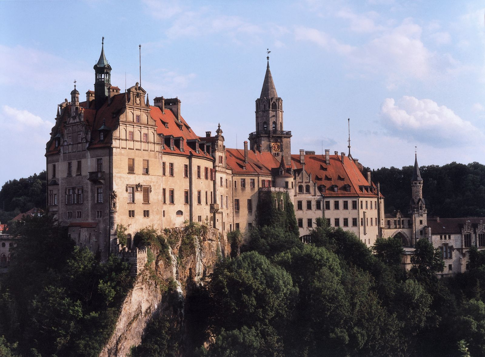 Sigmaringen castle on the Danube