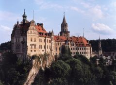 Sigmaringen castle on the Danube