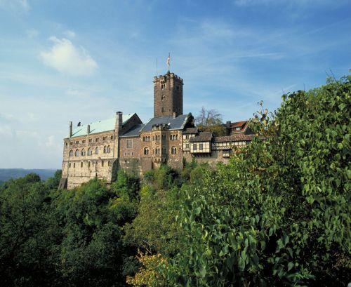 Wartburg castle Eisenach.