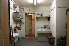 Inside Wollenburg bunker Brandenburg