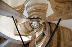 Winding stair inside the Albrechtsburg castle